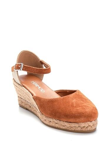 Derimod Kadın Sandalet(2018) Casual Taba
